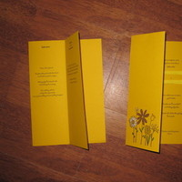 Stationery, yellow, Invitations