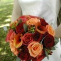 Flowers & Decor, orange, pink, red, Flowers