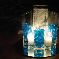 Reception, Flowers & Decor, blue, Centerpieces, Centerpiece, Inspiration board