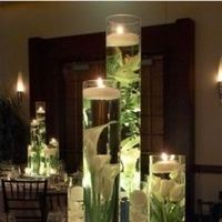 Reception, Flowers & Decor, gold, Centerpieces, Flowers, Centerpiece