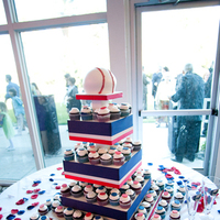 Photography, Cakes, white, red, blue, cake, Hollis, Cari