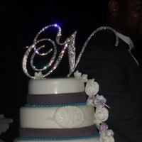Cakes, purple, blue, cake
