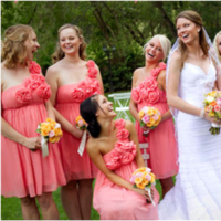 Bridesmaids, Bridesmaids Dresses, Wedding Dresses, Fashion, dress, Honeysuckle