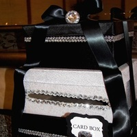 Reception, Flowers & Decor, Favors & Gifts, white, black, Favors