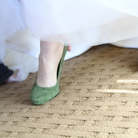 Wedding Dresses, Shoes, Fashion, green, dress, Camille nolan photography