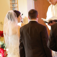 Ceremony, Flowers & Decor, green, brown, Camille nolan photography