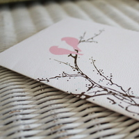 white, pink, brown, Invitations, Stationery