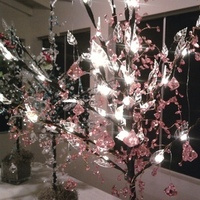 Ceremony, Reception, Flowers & Decor, white, yellow, orange, pink, red, purple, blue, green, brown, black, silver, gold, Ceremony Flowers, Flowers, Tree, Inspiration board, Led