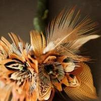Beauty, Flowers & Decor, Jewelry, Feathers, Boutonnieres, Groomsmen, Flowers, Groom, Hair, Boutonniere, Fishing, Feather, Lure, Fly, Feathered