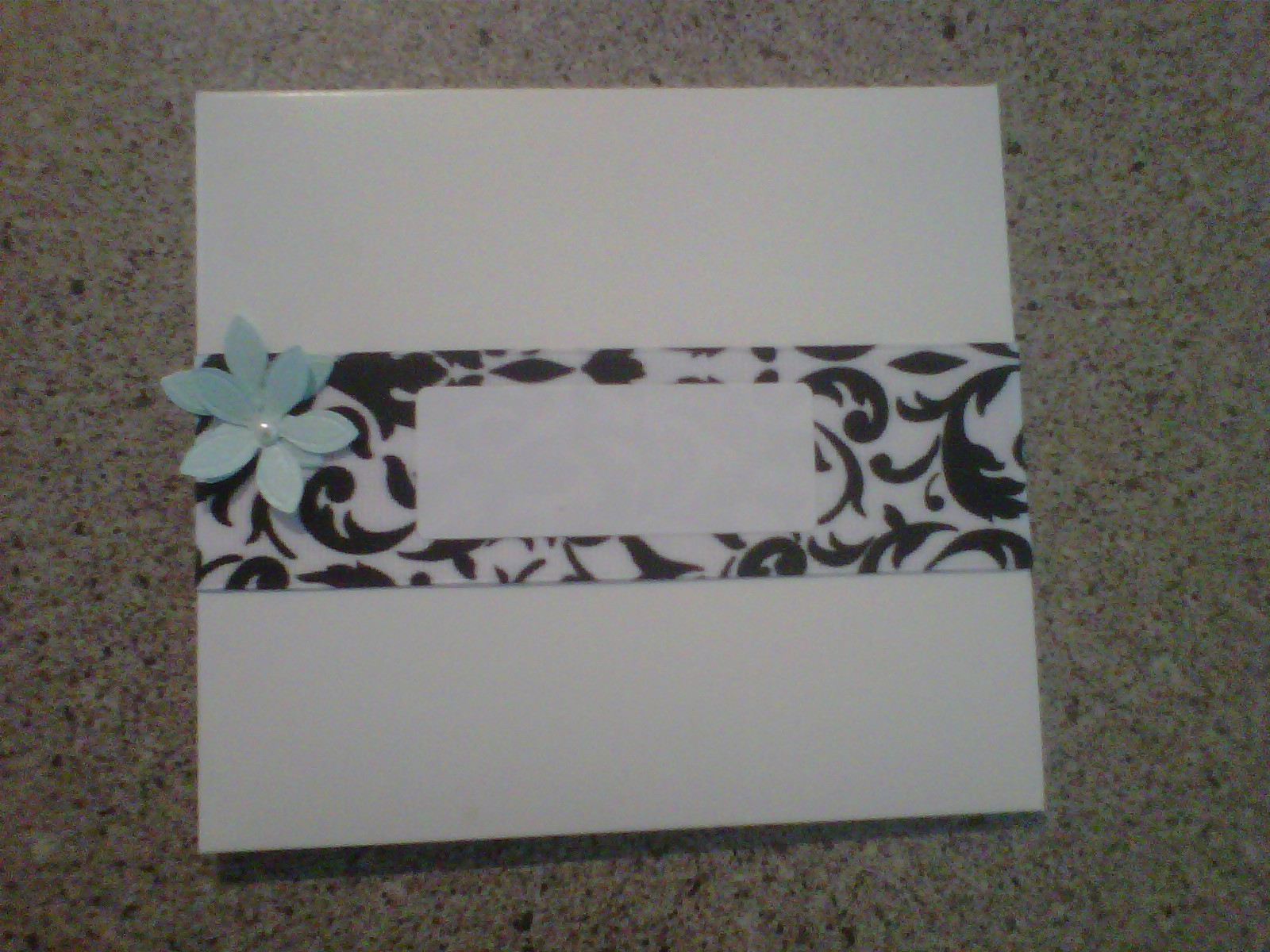 Stationery, white, black, invitation, Invitations, And, Ribbon, Damask, Dvd