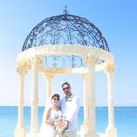 Ceremony, Flowers & Decor, Destinations, white, Wedding, Tropical, Destination, Inspiration board, Jamaica, Barefoot