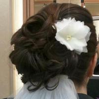 Beauty, Flowers & Decor, white, Flowers, Hair, Piece