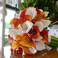 Flowers & Decor, orange, Flowers