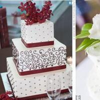 Cakes, pink, blue, cake