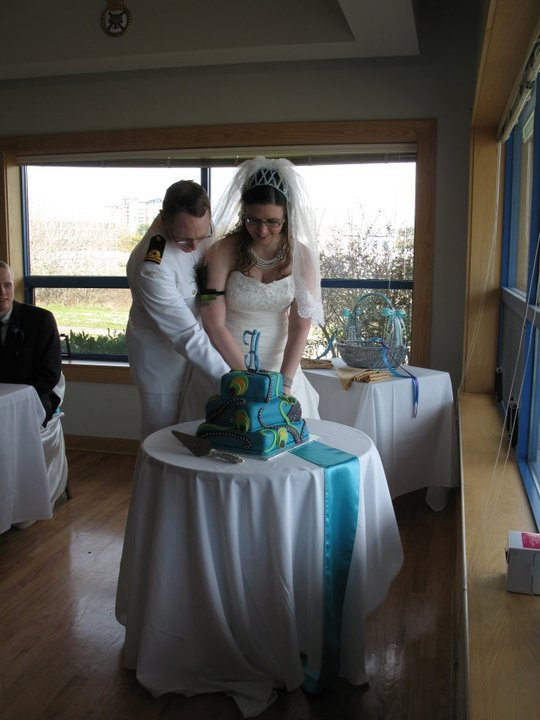 Reception, Flowers & Decor, Cakes, cake, Cutting, Claytonandshauna