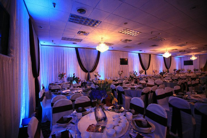 Reception, Flowers & Decor, blue, brown, Lighting, Seafood, Events, Island, Fantasy, Paracel