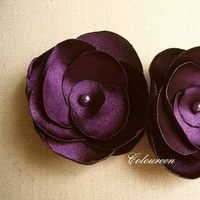 Flowers & Decor, Bridesmaids, Bridesmaids Dresses, Fashion, purple, Bride Bouquets, Bridesmaid Bouquets, Bride, Flowers, Eggplant, Plum, Violet, Flower Wedding Dresses