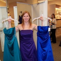 Bridesmaids, Bridesmaids Dresses, Fashion, purple, blue, green