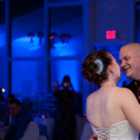 Reception, Flowers & Decor, Photography, blue, Dance, First, Military, Maggie, Marine, Shirley, Hollis, Corps, Cari, Soterro