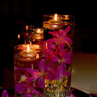 pink, purple, Centerpiece