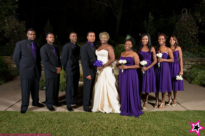 Ceremony, Flowers & Decor, Bridesmaids, Bridesmaids Dresses, Fashion, purple, Outdoor, Wedding, Party, Bridal, Evening, Dallas, Arboretum