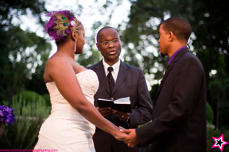 Ceremony, Flowers & Decor, purple, Outdoor, Wedding, Dallas, Arboretum