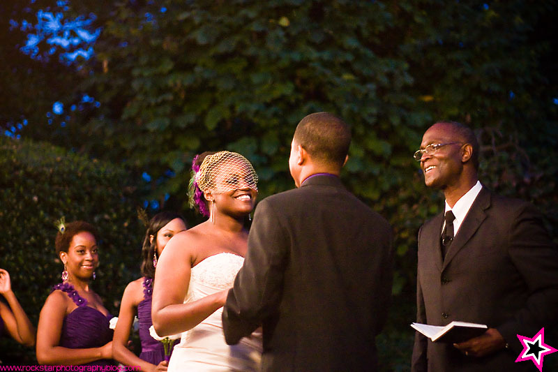 Ceremony, Flowers & Decor, purple, Outdoor, Wedding, Evening, Dallas, Arboretum