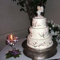 Cakes, pink, cake, Blossom, Cherry