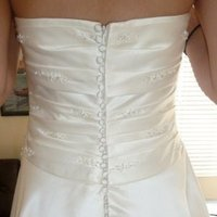 Wedding Dresses, Fashion, dress, Elegant, Strapless, Strapless Wedding Dresses, Pronovias, Crystals, Beads