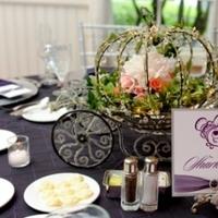 Reception, Flowers & Decor, purple