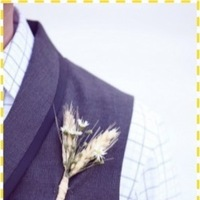 Flowers & Decor, Flowers, Groom, Bout, Sprig