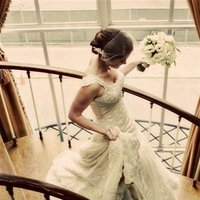 Reception, Flowers & Decor, Wedding Dresses, Fashion, white, green, black, gold, dress, Flowers, Flower Wedding Dresses