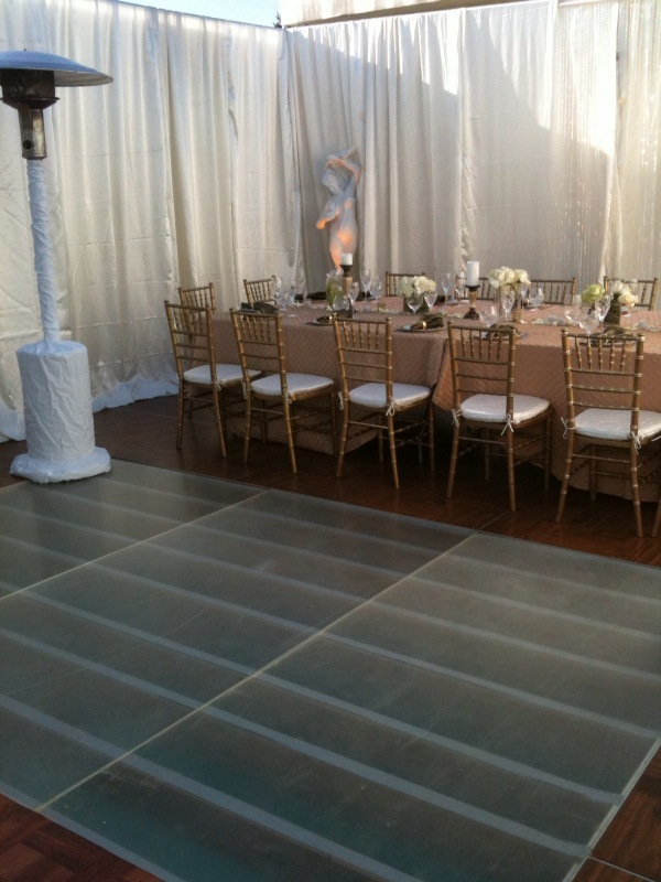 Ceremony, Reception, Flowers & Decor, orange, Party, Cover, Rental, Pool, On, Lake, County, San, Francisco, Stage, Los, Angeles, Oaks, Hills, Village, West, Woodland, Thousand, Trussing, Sherman, Dancfloor