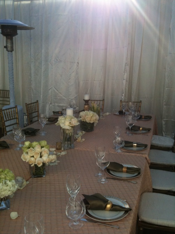 Ceremony, Reception, Flowers & Decor, Party, Draping, Tent, Cover, Pool, California, Event, Glass, Rentals, Los, Angeles, Bridges, Temporary