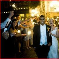 Reception, Flowers & Decor, Fireworks, Firework exit
