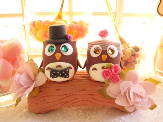 Cakes, cake, Cake topper, Birds, Topper, Animals, Love birds