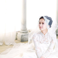Wedding Dresses, Fashion, white, dress, Elegant, Style, For, Dai, Ao