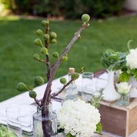 Reception, Flowers & Decor, green, brown, Flowers