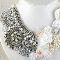 Jewelry, pink, silver