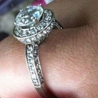 Jewelry, white, silver, Engagement Rings, Ring, Engagement, Diamonds
