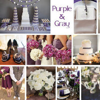 purple, Inspiration board