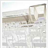 Reception, Flowers & Decor, Beach, Beach Wedding Flowers & Decor