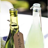 Reception, Flowers & Decor, Table, Bottles