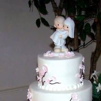 pink, cake, Cherry, Topper, Blossom, Cakes