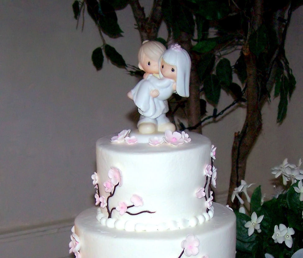 Cakes, pink, cake, Blossom, Topper, Cherry