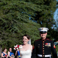 Ceremony, Flowers & Decor, Photography, blue, Military, Maggie, Marine, Shirley, Hollis, Corps, Cari, Soterro
