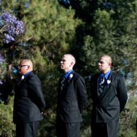 Ceremony, Flowers & Decor, Photography, blue, black, Groomsmen, Hollis, Cari