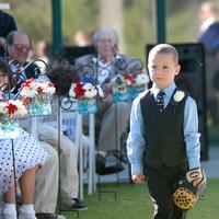 Ceremony, Flowers & Decor, Photography, Flower, Girl, Ring, Bearer, Hollis, Cari