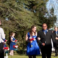 Ceremony, Flowers & Decor, Photography, blue, black, Hollis, Cari