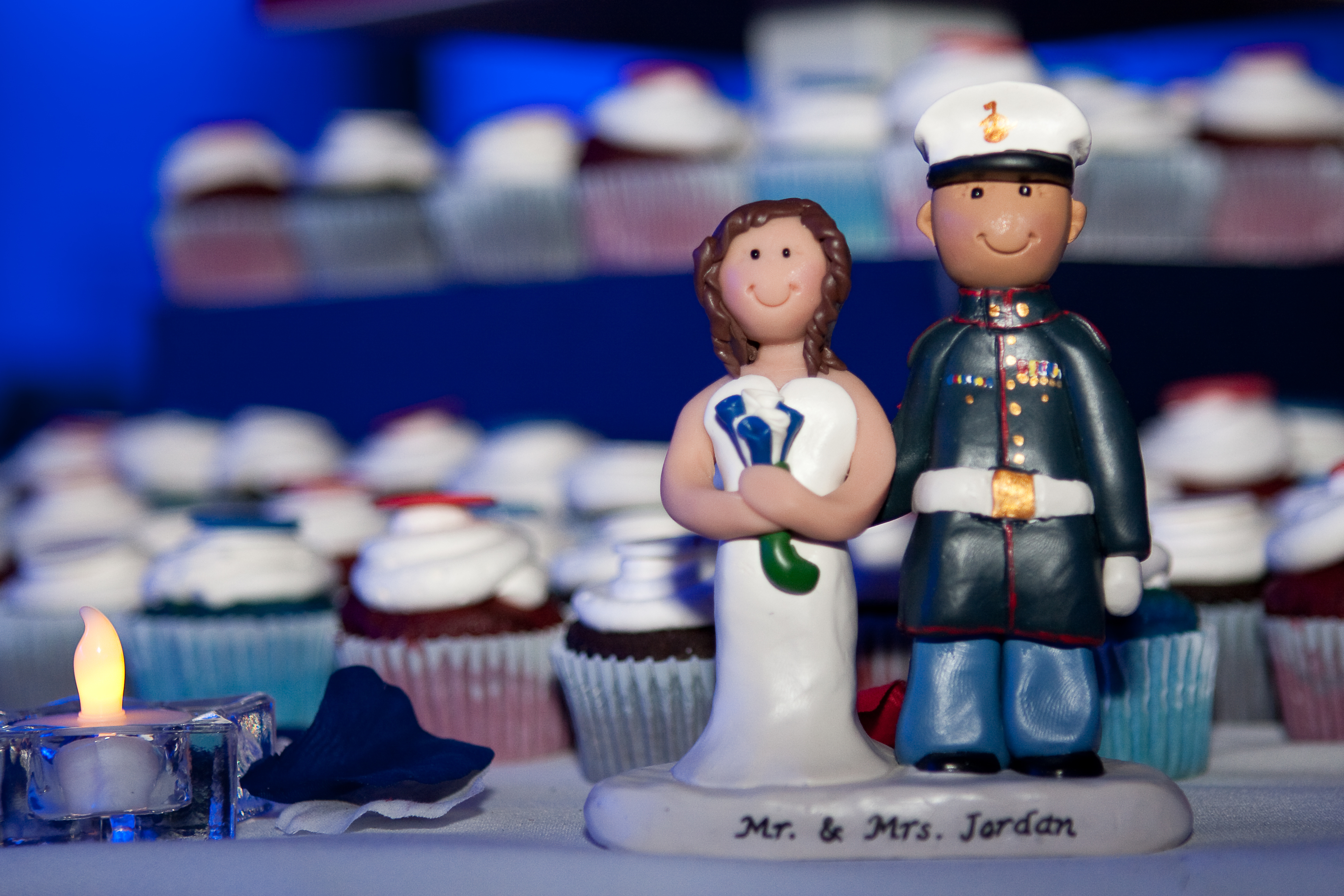 Reception, Flowers & Decor, Photography, Cakes, white, red, blue, cake, Sweet, Baseball, A, Design, Military, Marine, Hollis, Corps, Cari